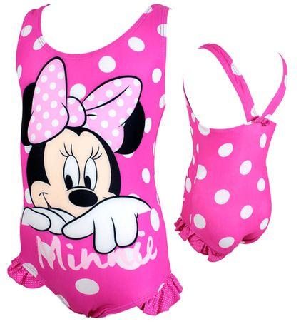 dziewczęcy strój kąpielowy Minnie Mouse roz. 122 nowy jednoczęściowy