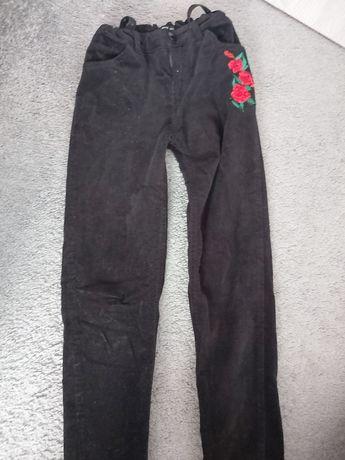 Spodnie sztruksowe Reserved rozm 140