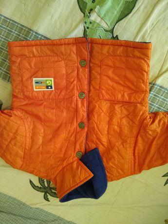 Демисезонная куртка для маленького ребенка на год