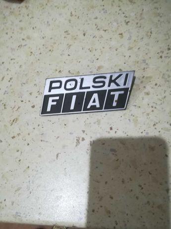 Emblemat Logo Polski Fiat
