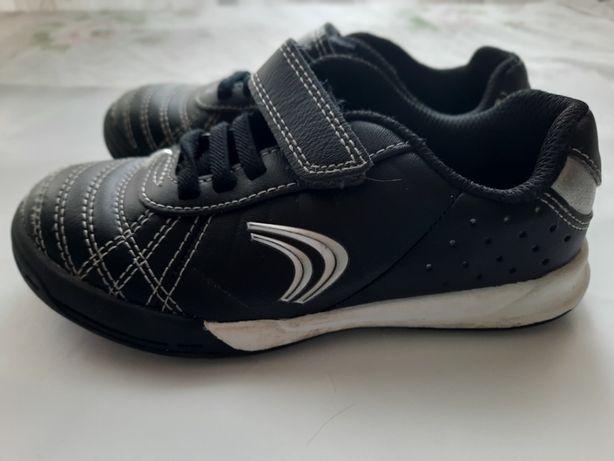 Черные кроссовки кожаные Clarks uk 8 1/2 F eu 26