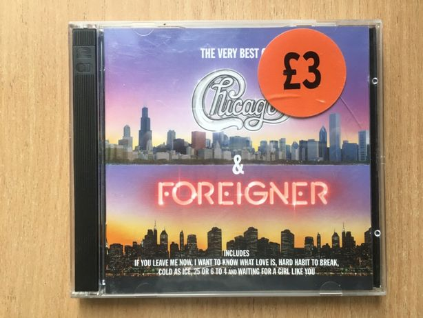 Chicago & Foreigner – The Very Best Of Chicago & Foreigner 2xCD UK