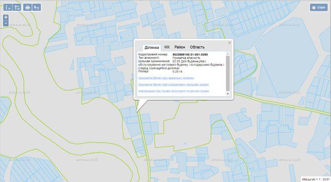 Продається земельна ділянка в с. Сопачів (8 км від м Вараш)