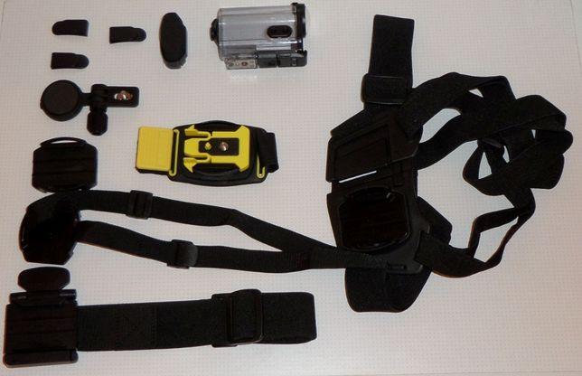 Kamera Sportowa SONY HDR-AS100V + dodatki stan bardzo dobry