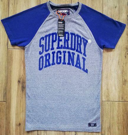 Superdry oryginalny męski t-shirt koszulka bluzka
