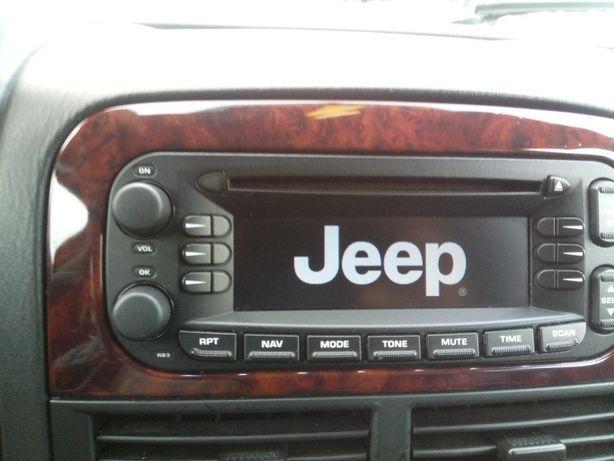 Radio oryginalne jeep Wj grand Cherokee Becker 6802 wersja europejska