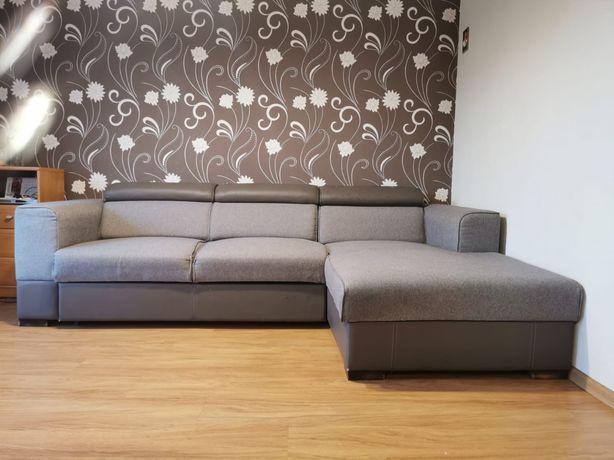 Narożnik sofa rogówka szara