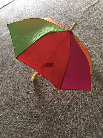 Sprzedam kolorowy, dziecięcy parasol, praktycznie nie używany polecam!