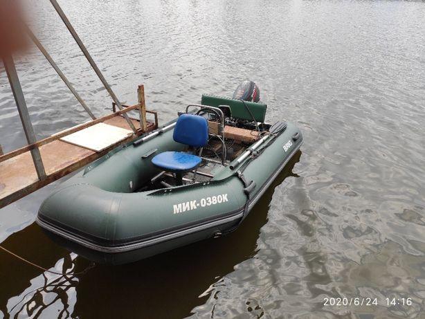 Продам лодку с мотором СУЗУКИ 15 ЛОШАДОК.