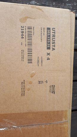 Szklane półki z Ikei 40cmx37cm