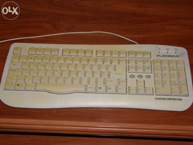 Impressora HP e teclado