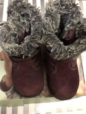 Зимняя обувь для девочки