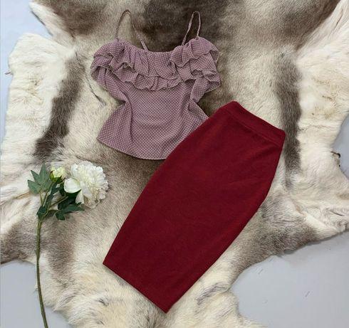Комплекты шорты майка юбка блуза