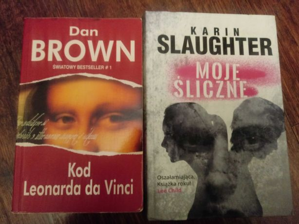 Książki Moje Śliczne i Kod Leonarda da Vinci
