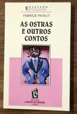 as ostras e outros contos, fabrice pataut, livros do brasil