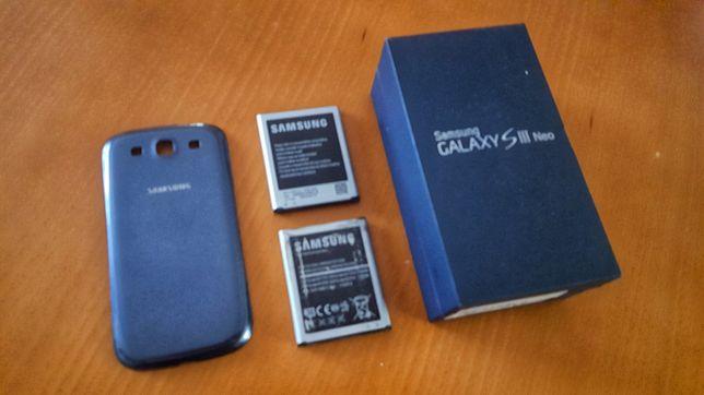Caixa Baterias Capa S3 NEO