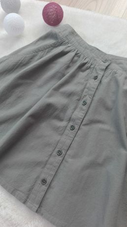 Spódnica mini z guzikami rozmiar 36
