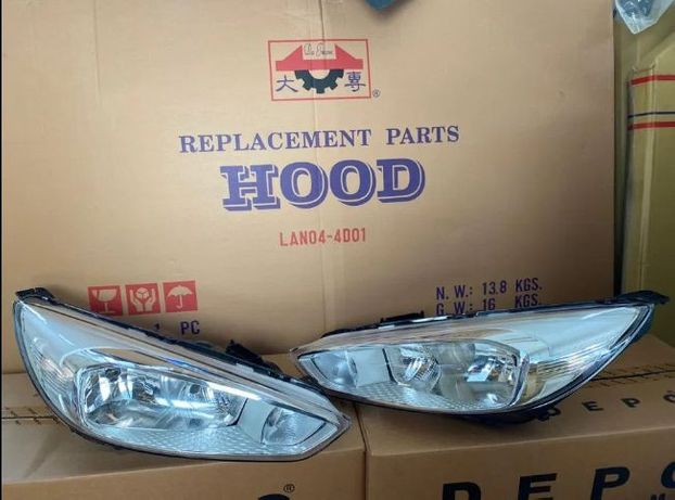 Фара бампер крыло панель решетка Ford Focus 3 USA фары фокус 3