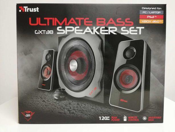 Colunas Trust GXT 38 Ultimate Bass 2.1