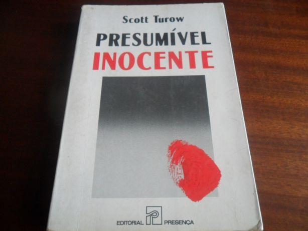"""Presumível Inocente"" de Scott Turow"