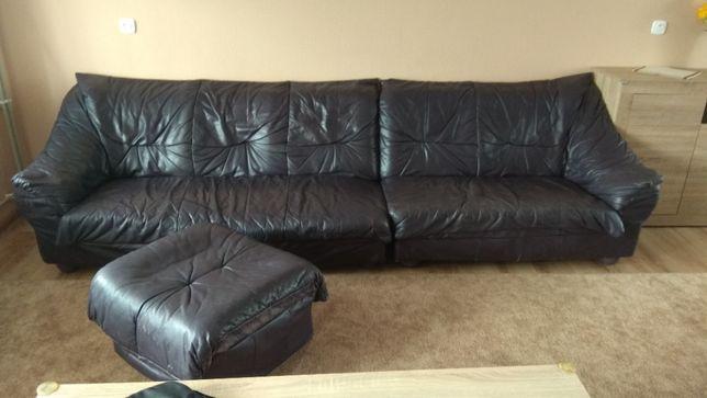 kanapa skórzana+gratis