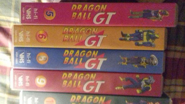 Cassetes VHS Dragon Ball GT