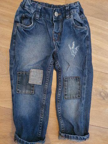 spodnie dzinsowe h&m rozmiar 92