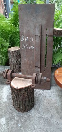 Вал для дров,розпускання досок