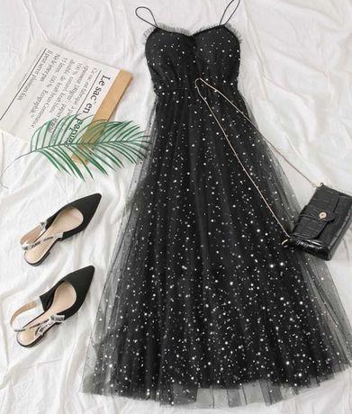 Vestido gala acessório festa