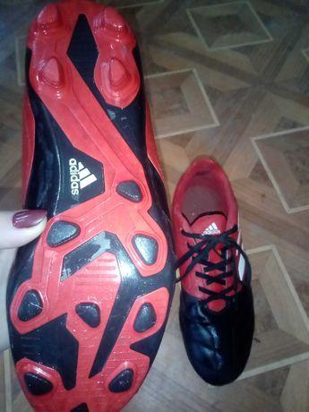 Бутсы adidas (кожа)