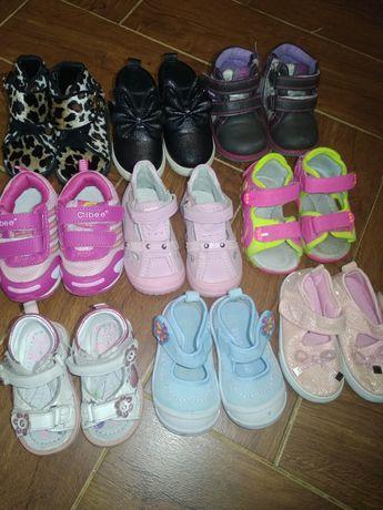 Лот обуви для девочки по супер цене