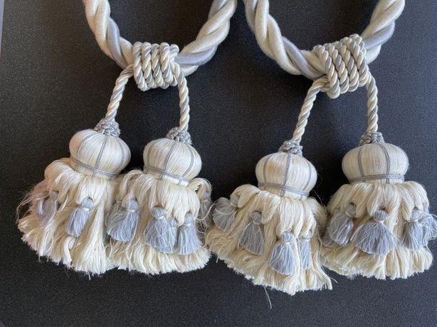 Embraces/pendentes para cortinado mais roseta