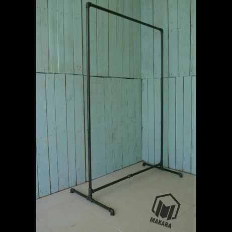 №22 Вешалка loft для одежды из труб лофт стойка торговое оборудовани