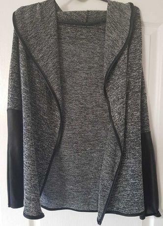 Włoska narzutka bolerko kardigan sweter żakiet marynarka pareo kurtka