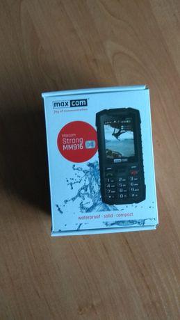 Wytrzymały telefon MAXCOM Strong MM916