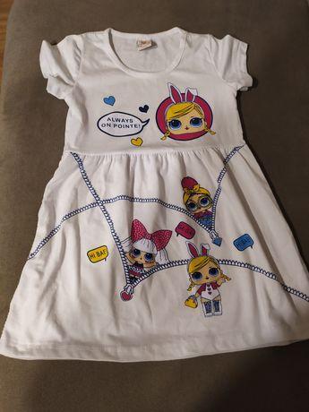 Sukienka lol rozmiar 110 nowa
