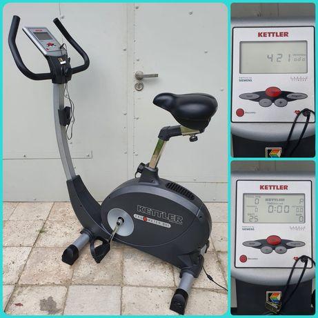 Rower elektromagnetyczny Kettler Ergometer DX1 do 130 kg , stacjonarny