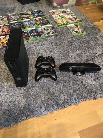 Sprzedam Xbox 360+ 2 pady i kinect a takze pare gier