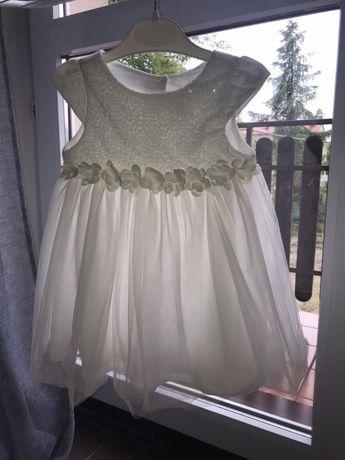 Sukienka tiulowa na chrzest 80