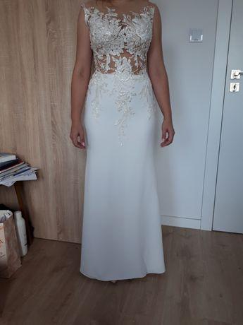 Suknia ślubna/sukienka ślubna Rybka model 2020