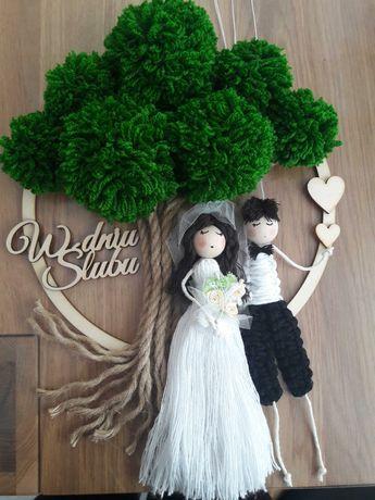 Ślub, Młoda Para makrama
