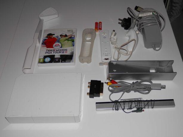 Nintendo Wii Konsola RVL-001 pady gra dodatki