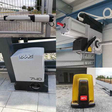 automatyka bram montaż bram serwis napęd bramy instalacja siłowników