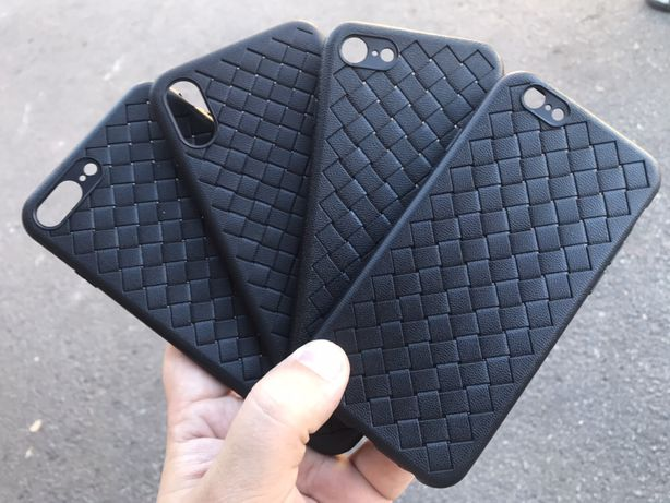 Чехол плетенка Bottega Veneta iPhone 5s/Se,7/8,8plus,X,XR,XS Max,11pro