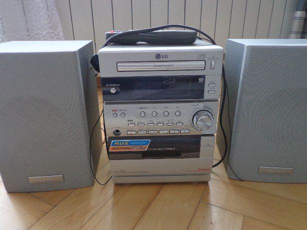 LG mini wieża z odtwarzaczem kaset