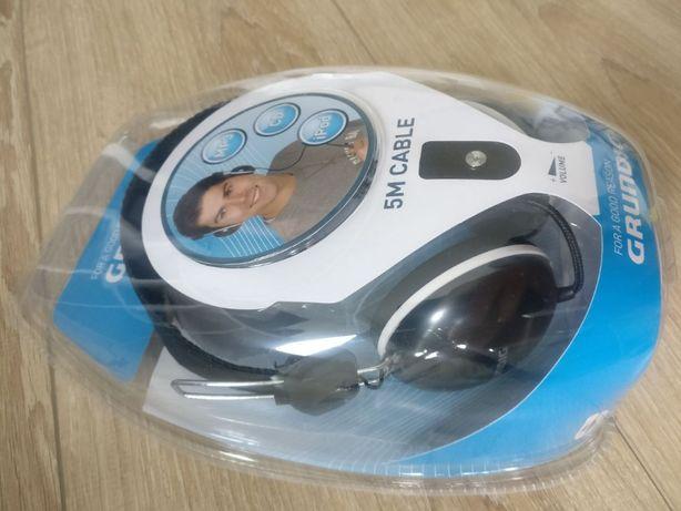Grundig gh867 Digital słuchawki stereofoniczne z ekstra długim kablem