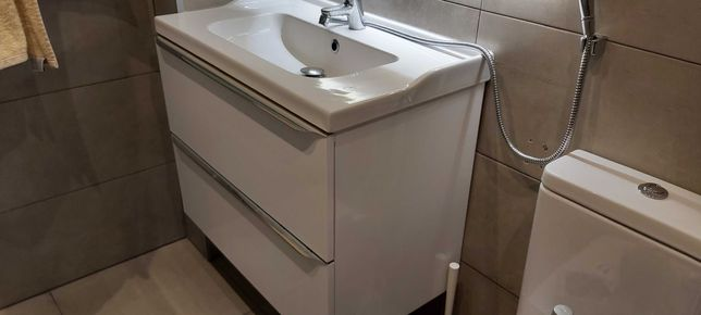 móvel de casa de banho suspenso com lavatório