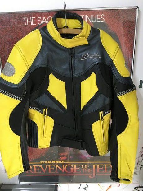 Damska skórzana kurtka motocyklowa M  40/12Diablo Scotchlite-Schoeller