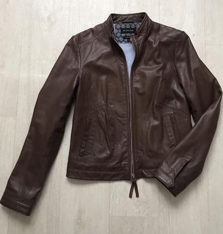 Продам женскую кожанную куртку Massimo Dutti .