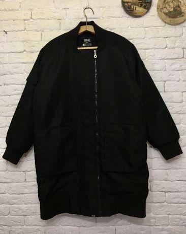 Куртка теплая бомбер XL